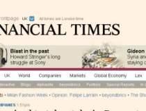 Financial Times inregistreaza...