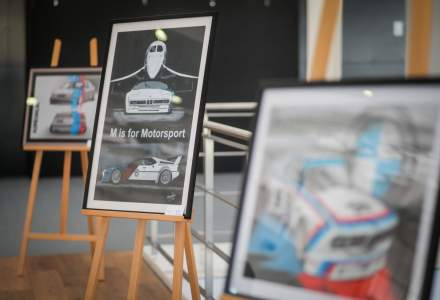 Expozitie dedicata BMW M la Automobile Bavaria Baneasa