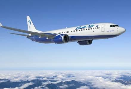 Blue Air a transportat, in 2017, peste 5 milioane de pasageri, cu 70% mai mult fata de anul anterior