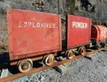 O parte din minerii de la...