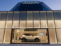 Cum arata noul showroom Volvo...