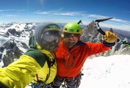 FOTO Premiera romaneasca in alpinism: Vlad Capusan si Zsolt Torok au cucerit varful Cerro Torre din Patagonia