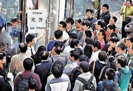 Chinezii, dezinteresati de iPhone: Apple este cu mult in spatele rivalilor de la Samsung
