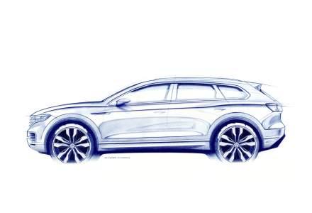 Volkswagen va prezenta noul Touareg in martie