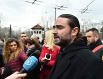 Protest la Cotroceni....