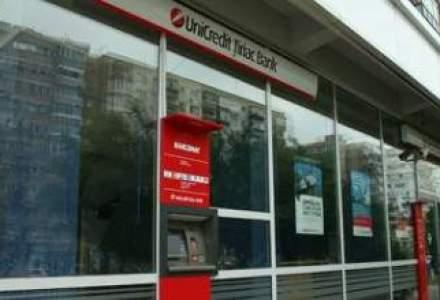 Profitul UniCredit Tiriac Bank a scazut in IFRS, dar portofoliul de credite a urcat cu 17%