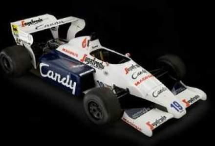 Prima masina condusa de Ayrton Senna la F1, scoasa la licitatie