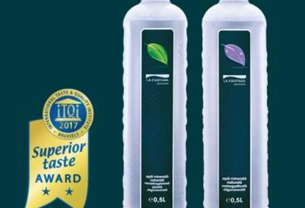 (P) Apa minerala naturala La Fantana, premiata pentru gust!