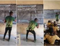 Un profesor din Ghana isi...