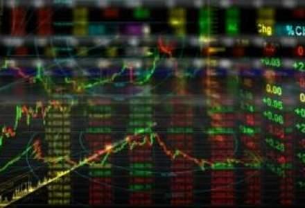 Bursa inchide pe plus dupa o zi in care doar tranzactiile cu obligatiuni au contat