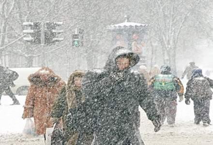 Romania intra sub cod portocaliu de frig si ninsori. Cand intra in vigoare