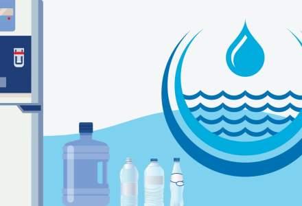 [Infografic] Un roman bea jumatate din cantitatea de apa imbuteliata consumata la nivel european. Care sunt cele mai populare branduri