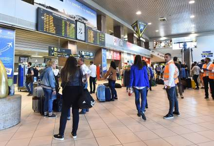 Romanii cheltuiesc 30 de lei in aeroport si merg mai des la Cluj decat in Paris