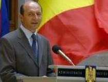Basescu ii cere lui Vosganian...