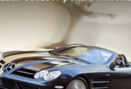 Noul SLR Roadster: Senzatii outdoor pentru milionari