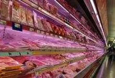 Mezelurile si carnea, succes redus de sarbatori, comparativ cu 2005