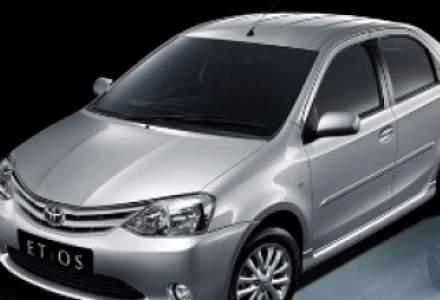 "Toyota Etios, adica ""Logan""-ul niponilor, a debutat in India"