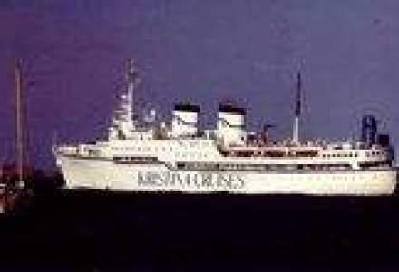 Una dintre cele mai luxoase nave de croaziera a adus la Constanta 300 de finlandezi