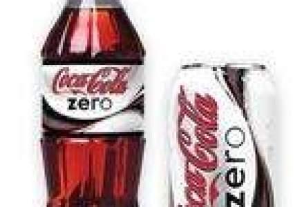 Bautura racoritoare Coke Zero a urcat de patru ori profitul CCHB