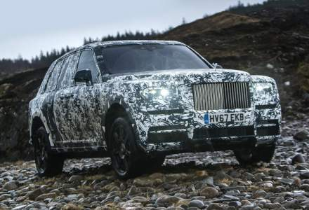 "Rolls-Royce semneaza cu National Geographic: testele finale cu SUV-ul Cullinan fac parte din aventura ""The Final Challenge"""