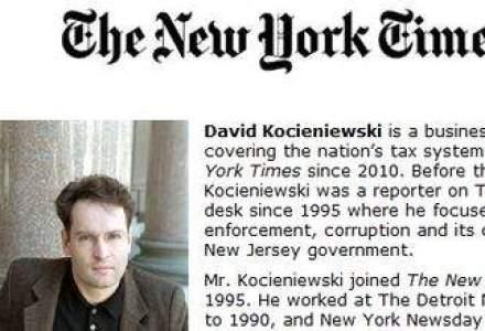 Singurul jurnalist de business care a luat un Pulitzer in 2012 : A demonstrat ca marile companii nu platesc taxe
