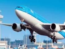 Pilotii companiei aeriene KLM...