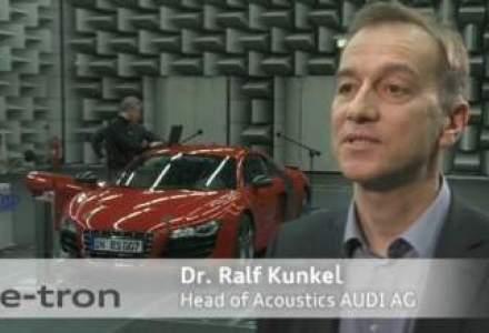 VIDEO: Ce sunet vor scoate masinile electrice. Audi a compus un zgomot unic