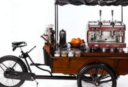 A renuntat la multinationala pentru o cafenea pe bicicleta