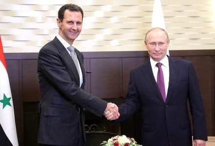 Bashar al-Assad le-a spus unor parlamentari rusi ca loviturile occidentale reprezinta un act de agresiune