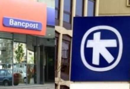 EFG Eurobank, actionarul Bancpost, a inregistrat in 2011 pierderi de 25,1 mil. euro