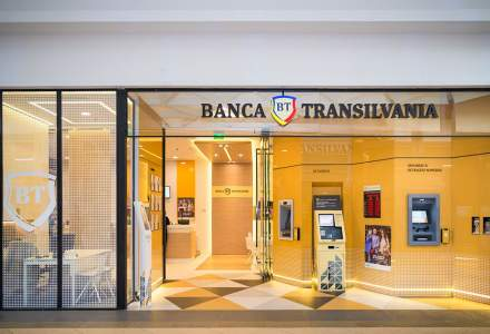 Banca Transilvania anunta un profit trimestrial cu aproape 50% mai mare, de 366 milioane lei