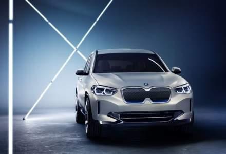 BMW prezinta iX3 Concept, model care prefigureaza primul sau SUV 100% electric