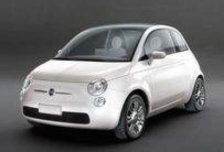 Fiat 500 vine in Romania la inceputul lui 2008