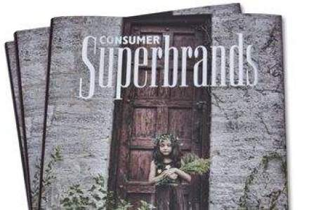 A fost lansata a doua carte Consumer Superbrands: 37 de branduri premiate