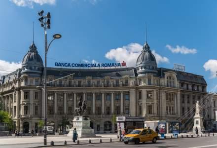 BCR, cea mai mare banca din Romania, si-a marit profitul cu 28% in T1