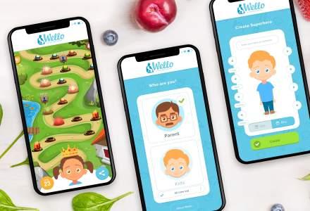 Wello, o aplicatie pentru copiii supraponderali, a primit finantare de 1 milion de euro