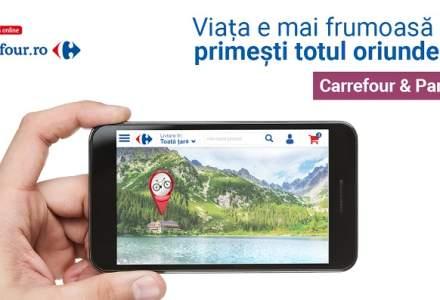 (P) Carrefour Romania lanseaza portalul unic carrefour.ro: Supermarket Online, Carrefour & Partenerii (marketplace), magazinul marcii proprii TEX, oportunitati de cariera si initiative corporate
