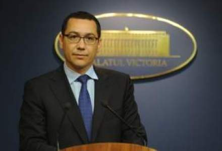 Ponta: Salariile vor fi majorate chiar daca situatia economica din Europa se inrautateste