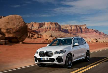 Noul BMW X5 ajunge in noiembrie in Romania