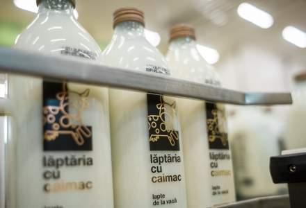 Laptaria cu Caimac inaugureaza o fabrica de produse lactate in judetul Ialomita, o investitie de 5 mil. euro si anunta semnarea unui contract cu Mega Image