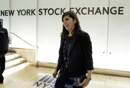 Bursa de la New York a numit prima femeie in calitate presedinte dupa 226 ani de la infiintare