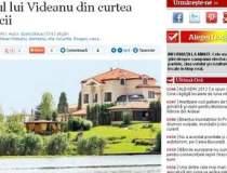 Palatul lui Videanu din...