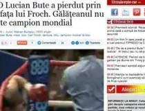 Lucian Bute a pierdut prin KO...
