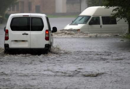 INHGA a actualizat avertizarea hidrologica; Cod rosu de inundatii pe rauri din 3 judete si portocaliu pe rauri din 19 judete