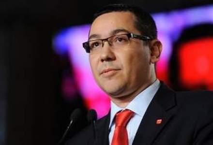 Ponta: Problema Romaniei nu este reducerea fondurilor UE, ci absorbtia