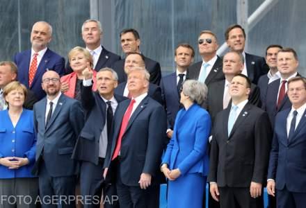 "Disputa intre aliati la summitul NATO. Contre intre Merkel si Trump, dupa ce liderul SUA acuza Germania ca este ""prizoniera"" Rusiei"