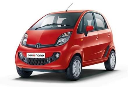 Tata Nano, cea mai ieftina masina din lume, dispare de pe piata