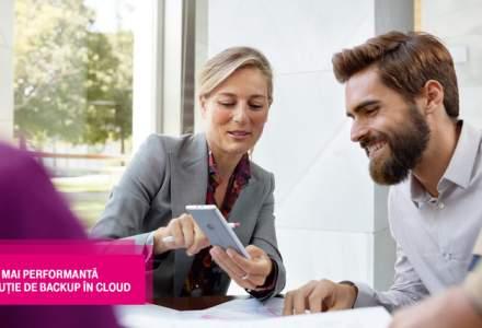 (P) Telekom Cloud Backup, solutia performanta care protejeaza datele companiilor impotriva pierderii sau deteriorarii. Testeaz-o acum si datele companiei tale vor fi in siguranta!