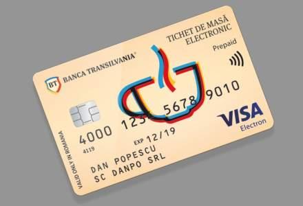 Banca Transilvania lanseaza sub sigla Visa un card de masa contactless