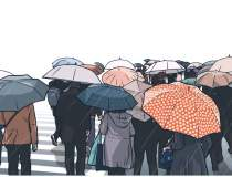 Ploi torentiale in Bucuresti...